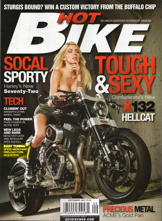 Bikes Magazine of Hot Bike Magazine
